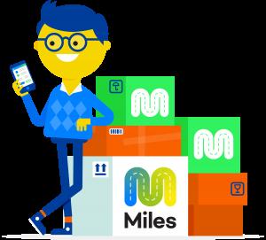 Miles online koeriersdienst